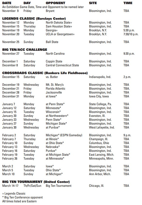 the complete 2012-13 schedule after the jump or on our schedule page