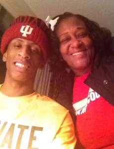 Troy and his mom, Patty
