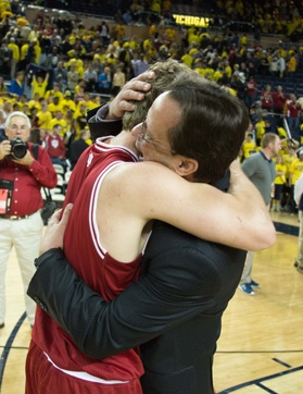 indiana hoosiers tom crean michigan big ten
