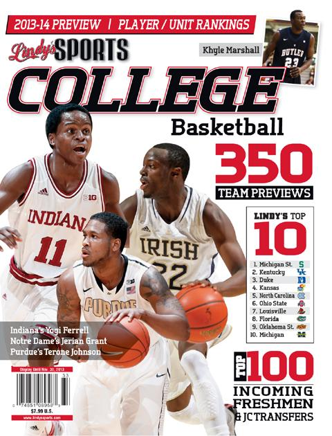 480 x 630 jpeg 73kB, Yogi Ferrell on cover of Athlon Sports, Lindy's ...