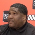 Video: Kenny Johnson introduced at Louisville