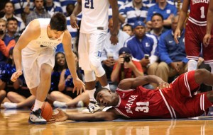 NCAA Basketball: Indiana at Duke