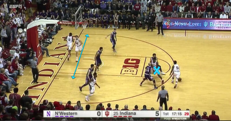 hoosiers film analysis We'll take a look at four of his scores in the latest edition of film session:   simple, yet effective play from the hoosiers against howard's zone.
