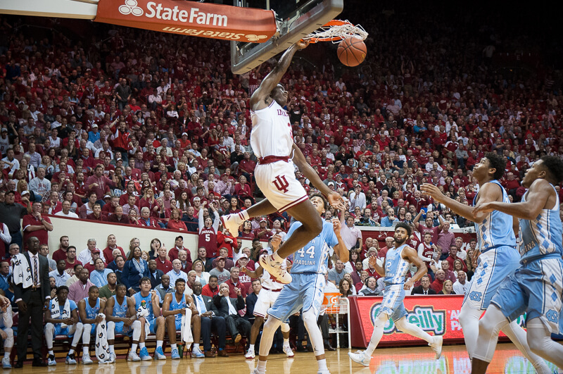 North Carolina Tar Heels vs Indiana Hoosiers Pick and Preview