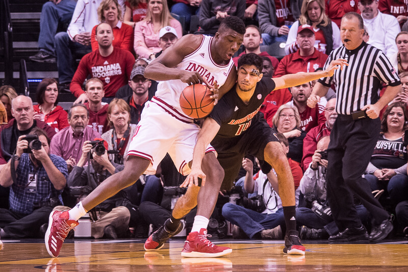 NCAA Basketball: Louisville keeps IN offense IN check IN victory