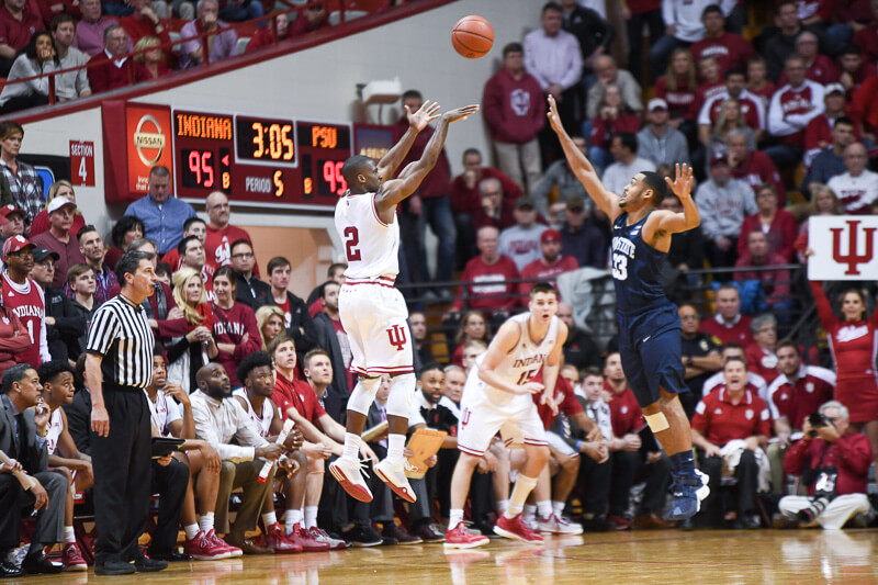 Indiana's James Blackmon will play tonight against Purdue