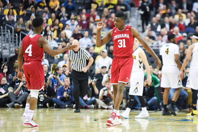 Indiana's Thomas Bryant signs with an agent