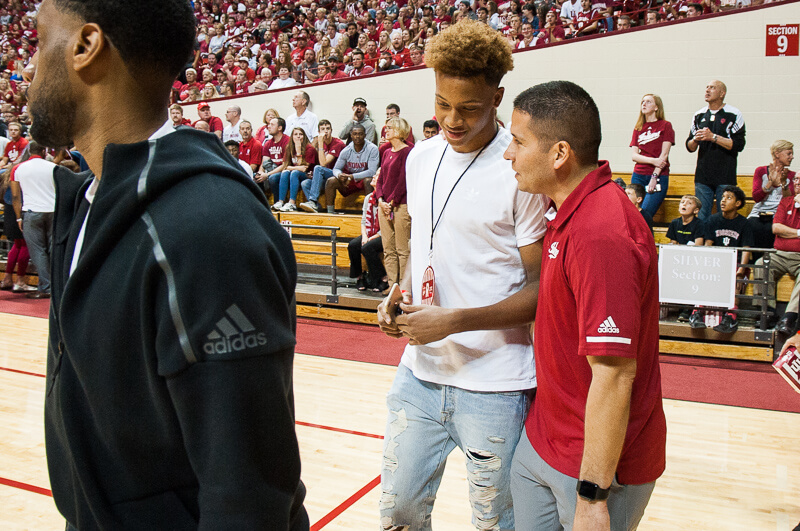 the best attitude 0a6d6 bf49d Five-star guard Romeo Langford trims list to three - Inside ...