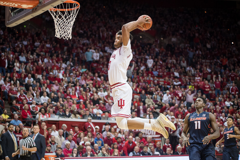 IU's freshmen duo helps Hoosiers beat IL