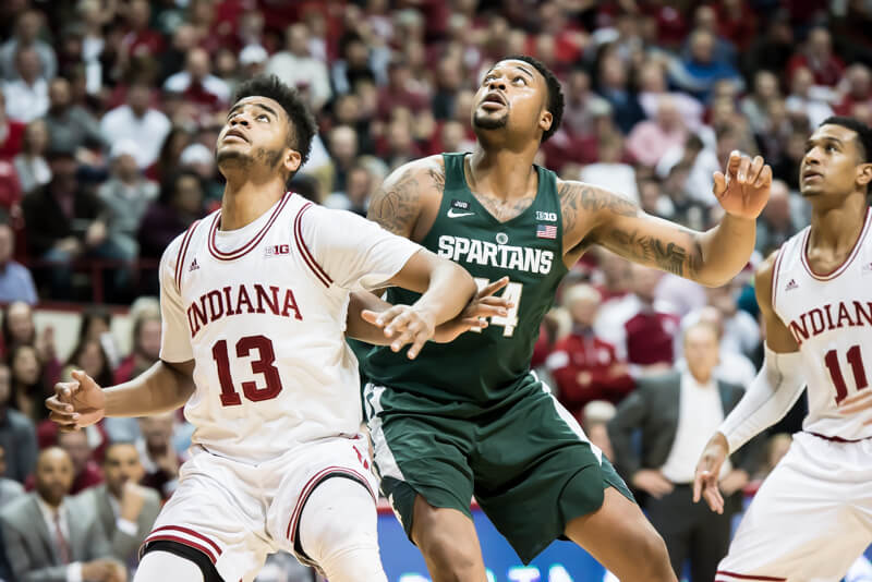 BOZICH | Crooked shooting stops IN again against Michigan State