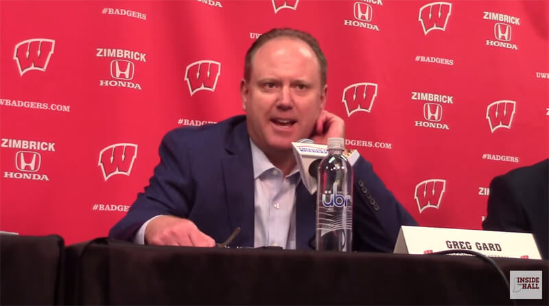 Video: Greg Gard, Wisconsin players react to win over Indiana