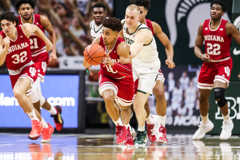 At The Buzzer: Michigan State 64, Indiana 58 - Inside the Hall